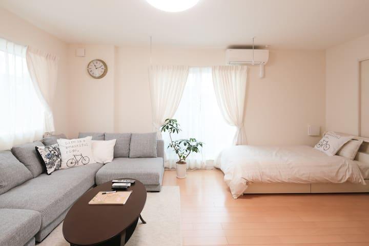 Shimokitazawa Sta 5min!!Max 7PAX/1LDK/WIFI - Setagaya - Apartment