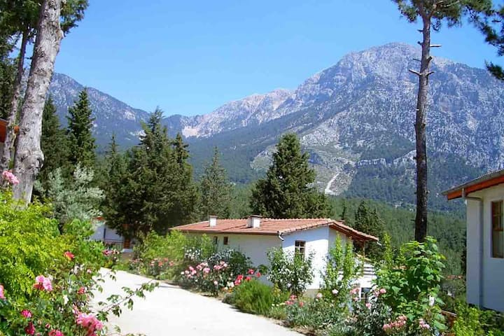 Isolated, cozy cottage house in Beycik - Kemer