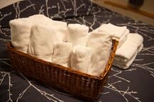 Extra towels too.
