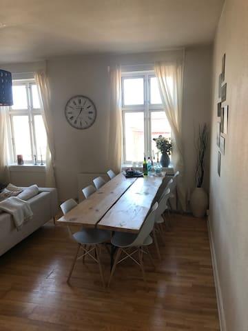 Stor hyggelig 2 værelses lejlighed - Odense - Appartement