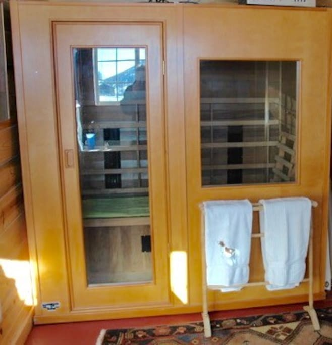 Far Infra-red sauna in your private en suite!
