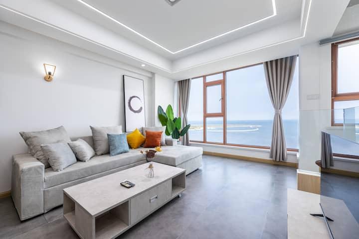 金梦海湾第一观写意风180°海景公寓1