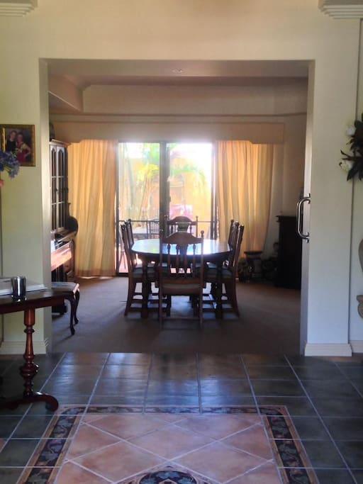 Entrance/Lounge room