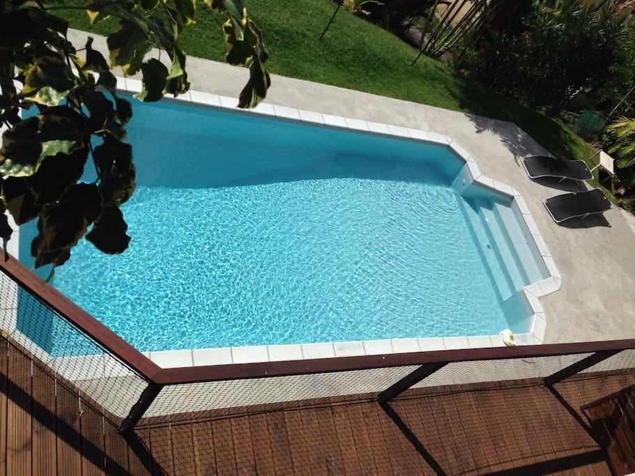Studio2 avec terrasse et piscine maisons louer fort de france fort de france martinique - Piscine miroir prix fort de france ...