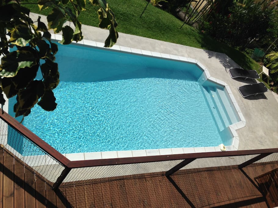 Studio2 avec terrasse et piscine maisons louer fort - Piscine tubulaire castorama fort de france ...