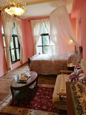 新上特價 蜜月套房、古典溫馨浪漫的裝潢