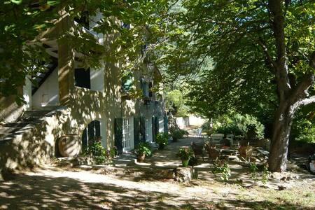 Maison de famille dans parc national des Cévennes