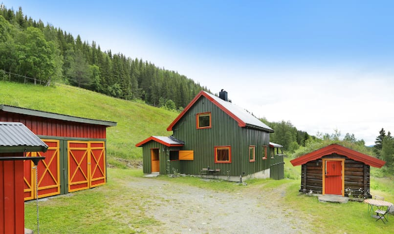 Rooms in traditional Norwegian cabin - Etnedal - Casa