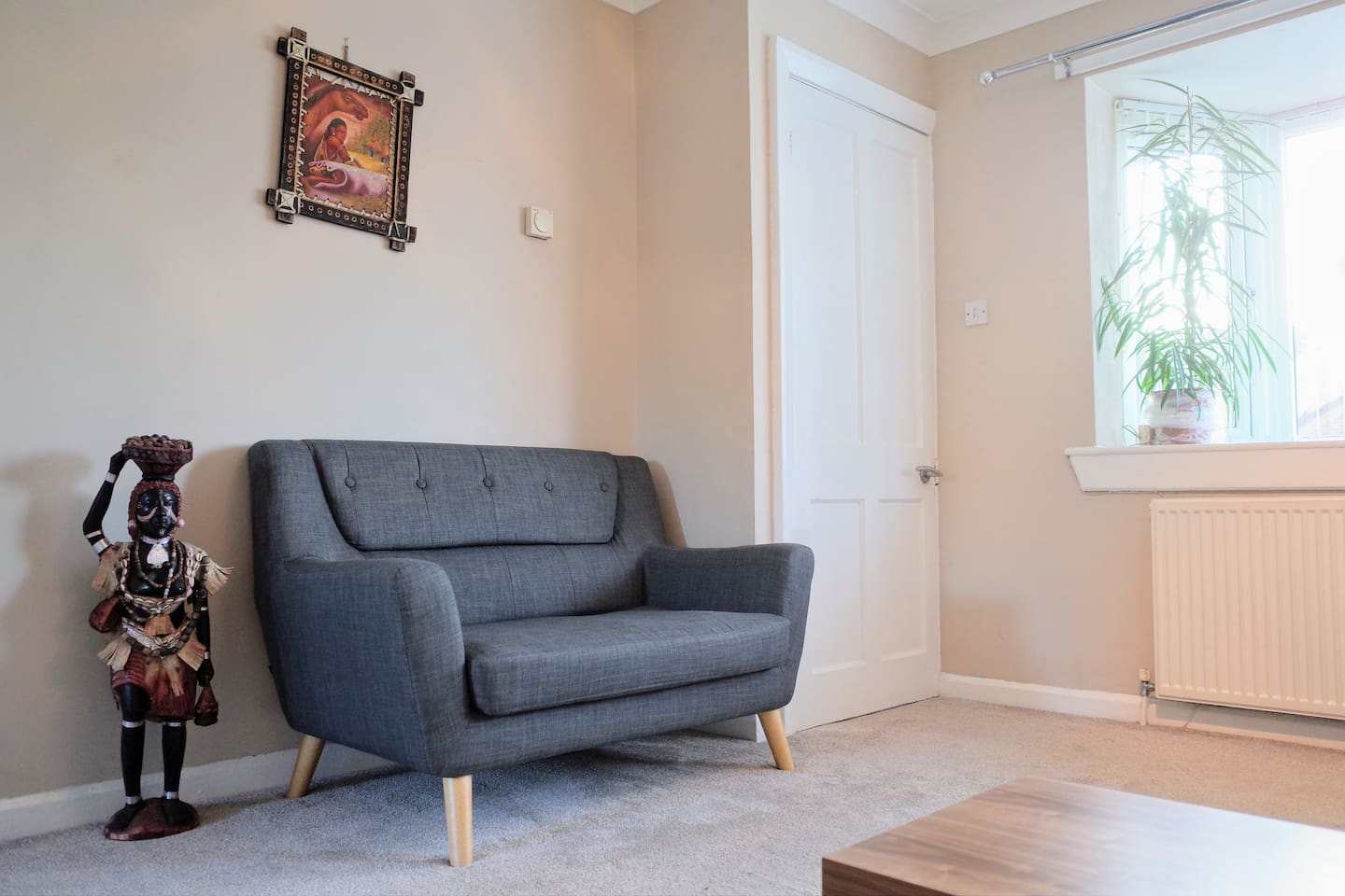 Living room. Guests are very welcome to use this shared space