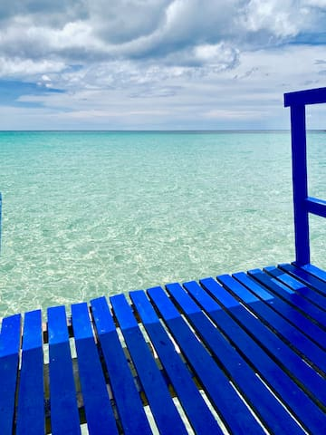 Our boat balcony. What's in your mind?
