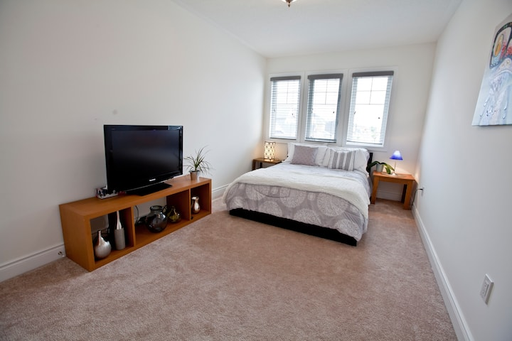 Bright room inside beautiful home!