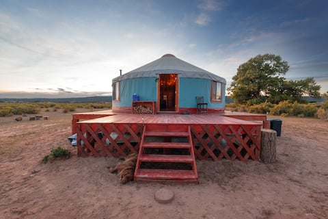 Off the Grid Yurt (Camping)