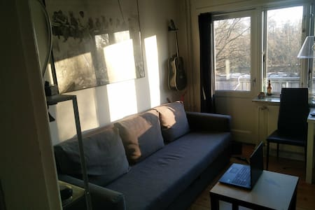 Cozy small apartment near Odense river - Odense