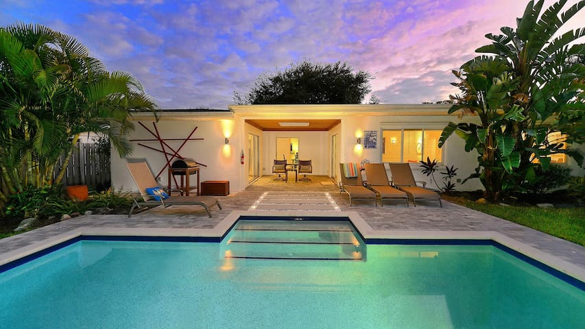Private Haus mit Pool nur 1 Mile nach Siesta Key