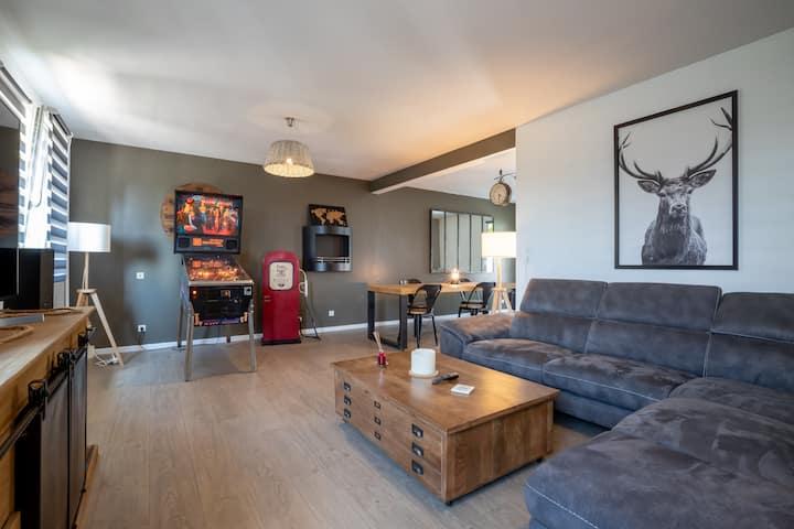 ***** Superbe appartement a 3 km de Beaune centre