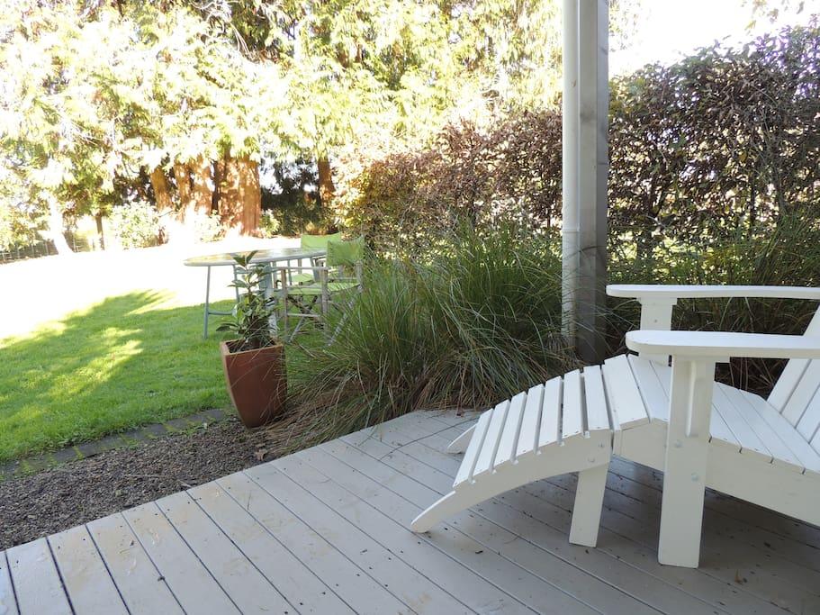 private little veranda
