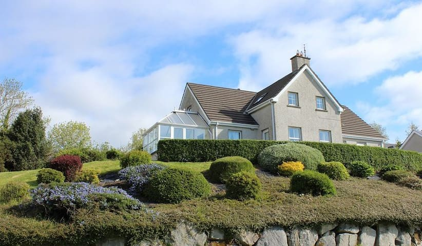 Holiday home in Rathmullan with stunning views