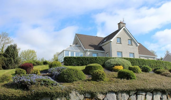 Holiday home in Rathmullan with sea views