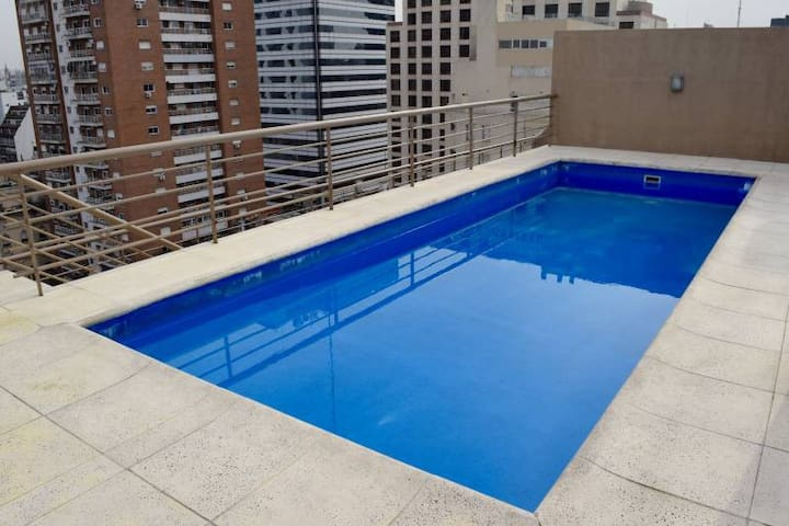 Excellent Apart + Great Location + SwmgPool + Gym - San Telmo - Daire
