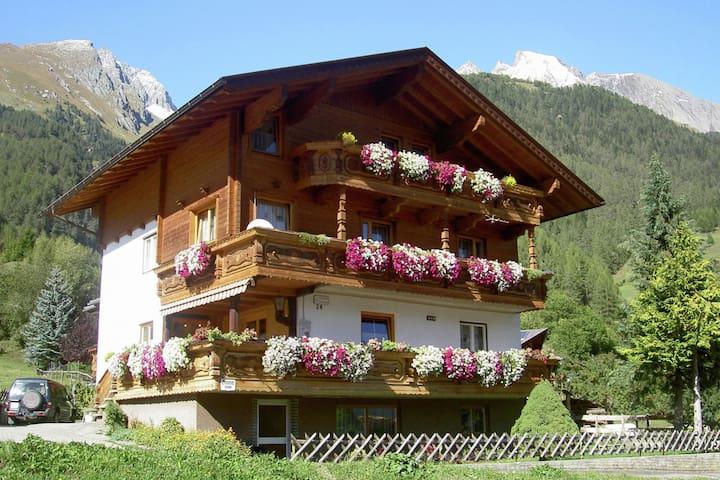 Espacioso apartamento En medio de las montañas en Virgen