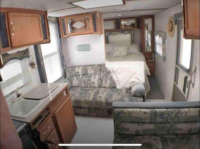 Super cozy travel trailer