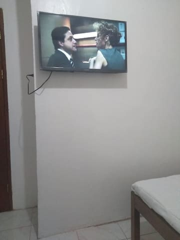 room 1 - fully air conditioned with TV ( NETFLIX  & YOUTUBE  only)