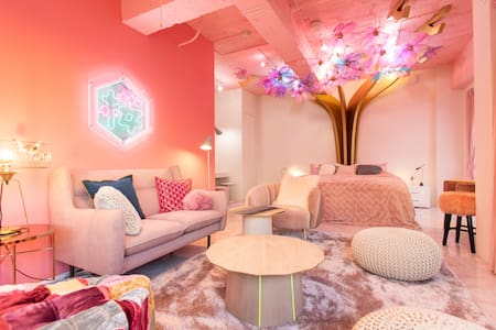 "kawaii culture in Harajuku MOSHIMOSHIROOMS""SAKURA"""