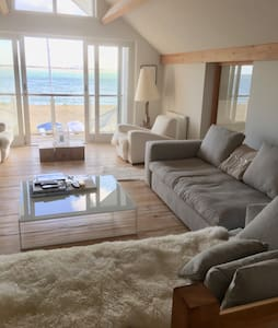 Stylish, Airy Beach Front House