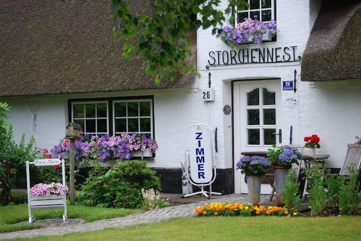 Bed & Breakfast Storchennest Schafflund - Schafflund - Bed & Breakfast