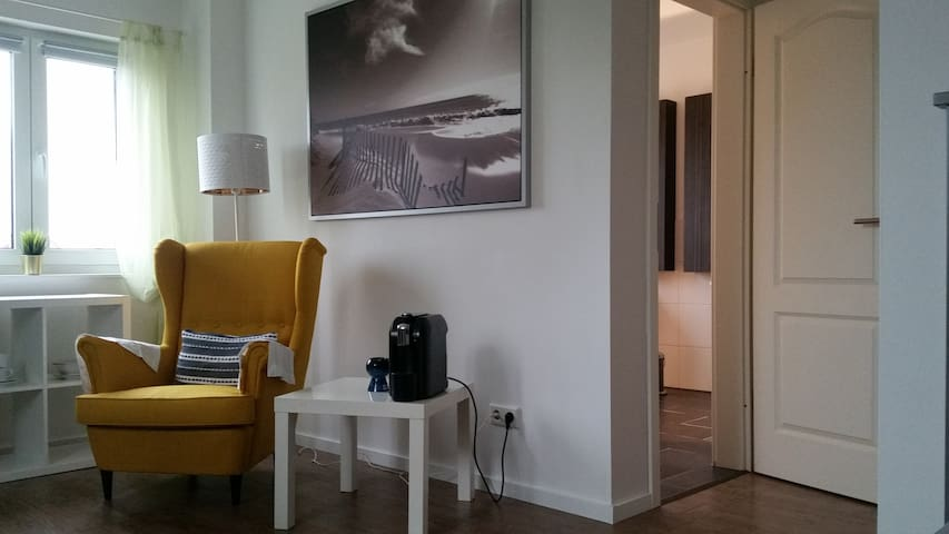angenehmes Zimmer mit eigenem Bad