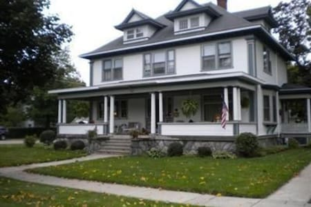 Small Midwest Town, Edwardian Home - Scottville