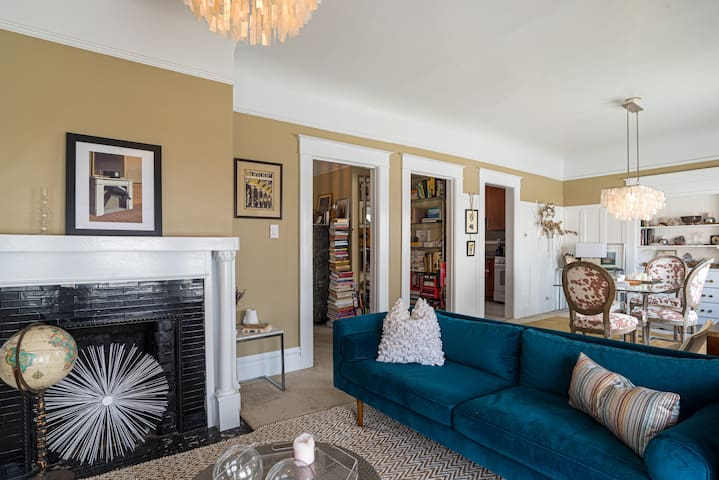 Artistic 1BR Apartment in Beautiful Russian Hill