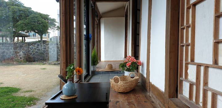 "Jeju Island  "" 100-year-old traditional house"""