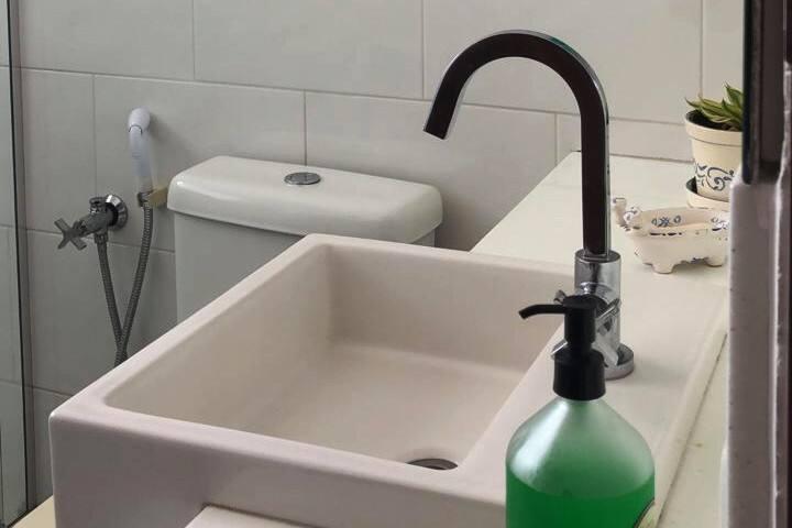 Banheiro vista 1