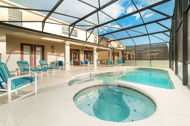 Private Pool - Newly Refurbished - 5 Minutes To Disney