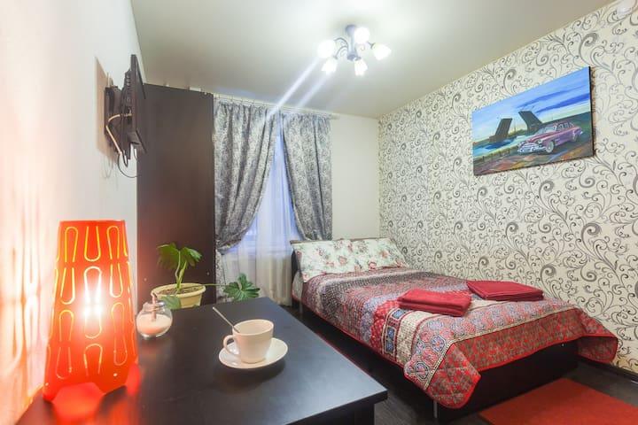 Апартаменты студия в г. Колпино №410