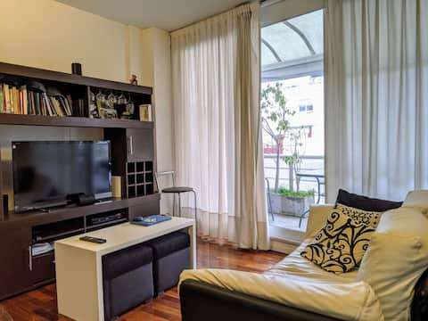 Petit Penthouse in the heart of Recoleta.Pretty