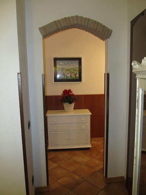 entrata camera matrimoniale