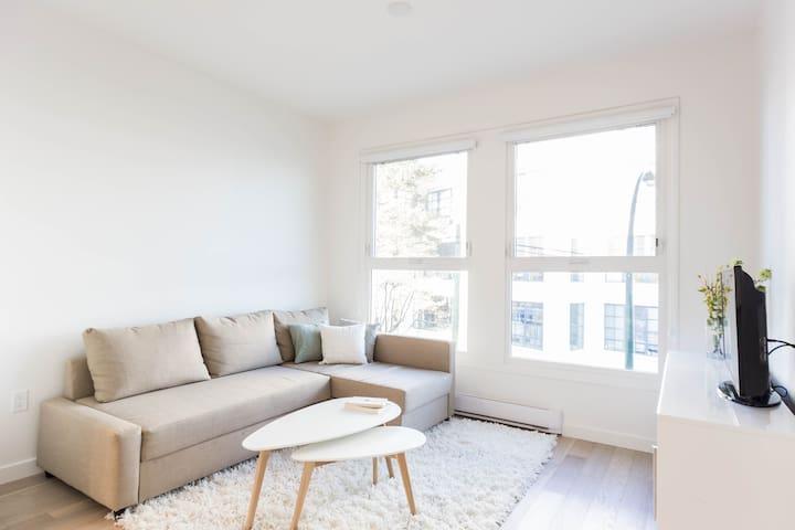 Boutique Apartment in Railtown - Vancouver - Departamento