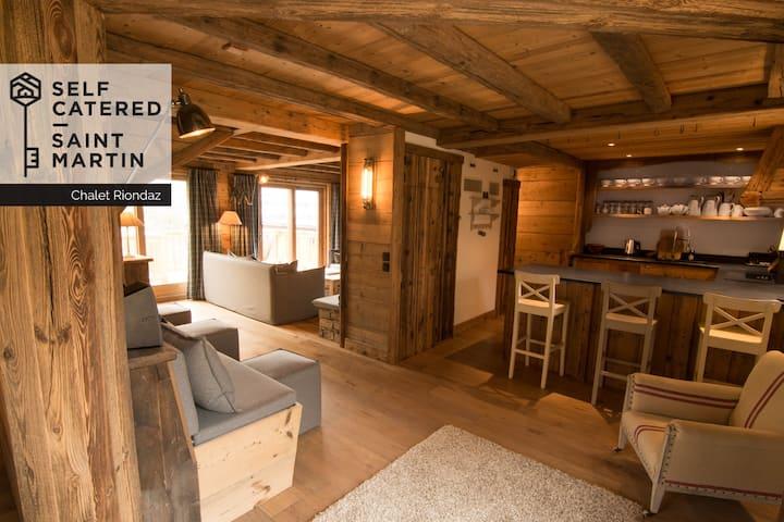 Chalet Riondaz - Stunning 6/7 bedroom ski chalet