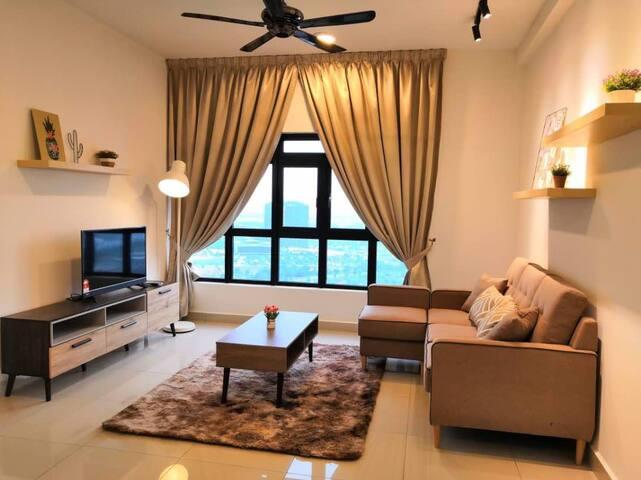 3-bedroom apartment near LEGOLAND Malaysia