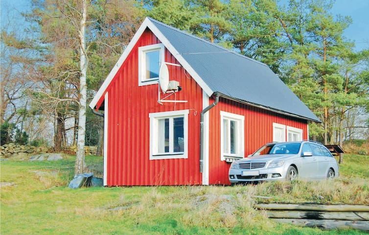 Holiday cottage with 1 bedroom on 38 m² in Lyckeby