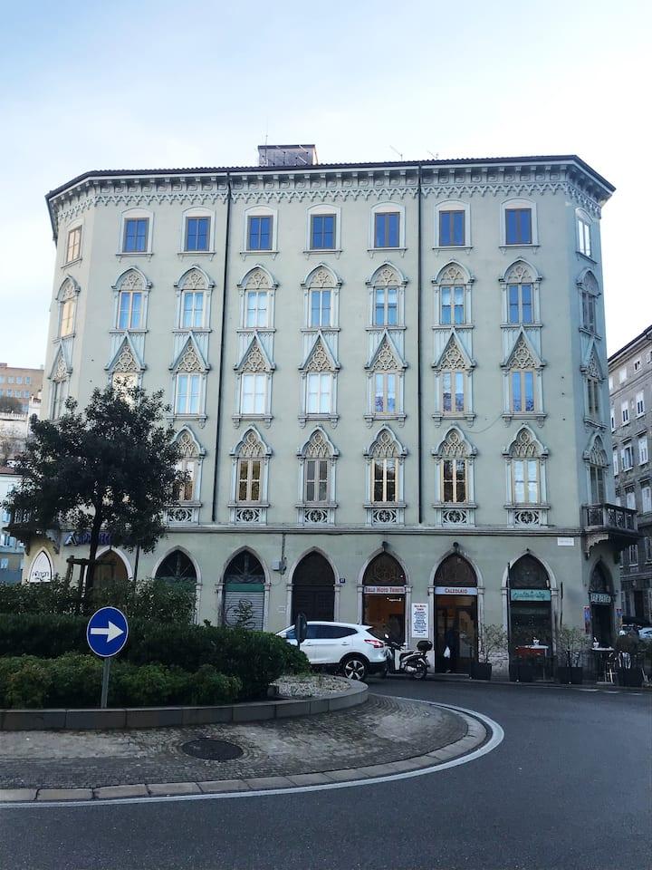 CasaNico mansarda a Trieste