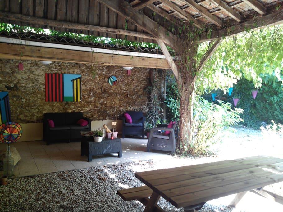 Maison 12 couchages au coeur du bassin d 39 arcachon maisons louer biganos nouvelle - Maison bassin d arcachon location nice ...