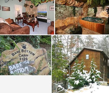 Bare Bottom Cabin - Pigeon Forge