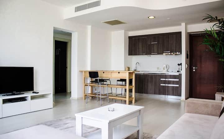 Yüksek Katlı Lux Rezidence'da Renkli Daireler
