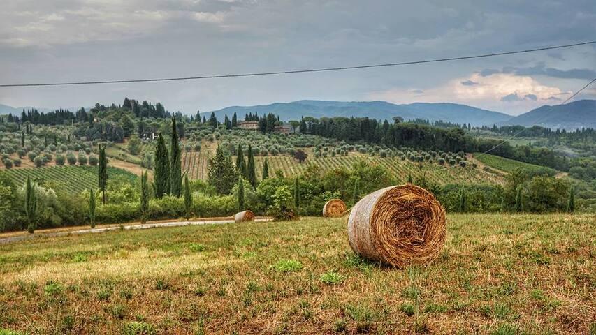 Teil eines Bauernhauses in der Chianti - Impruneta - Wohnung