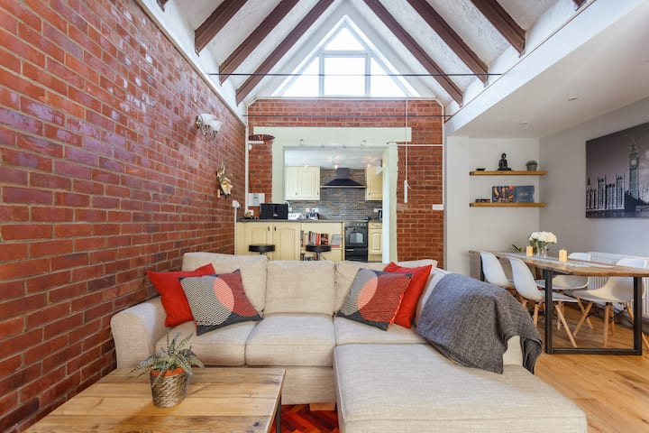 Quirky bungalow with character features