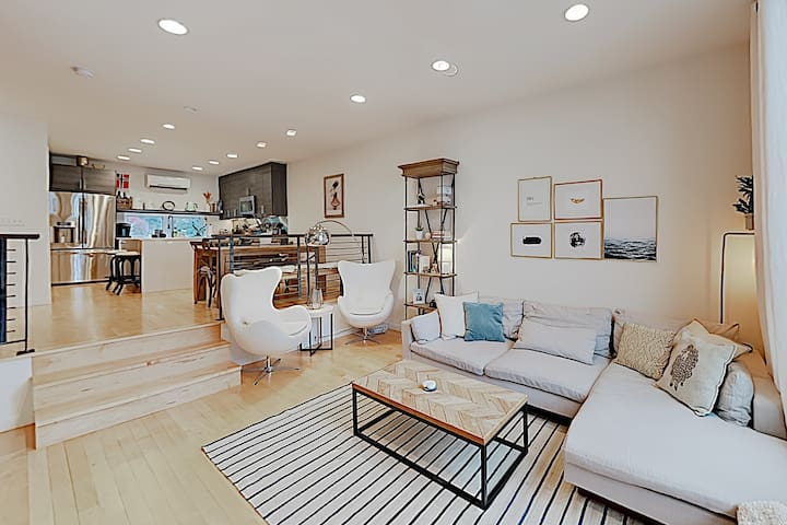 New Listing! Modern Haven w/ Private Balcony