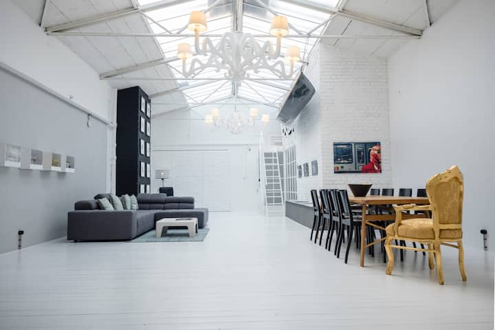 "Industrial Loft, an old dairy ""Alte Molkerei"""